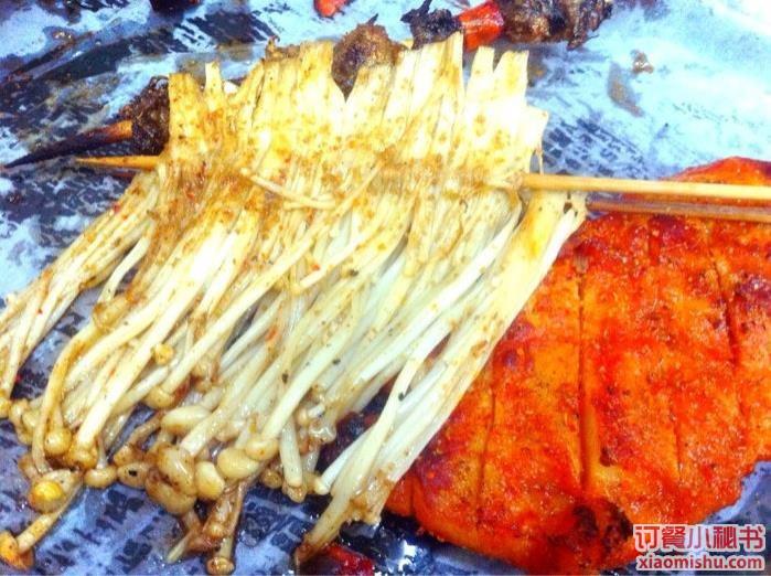 金针��ऺn(z&�_金针菇烧烤