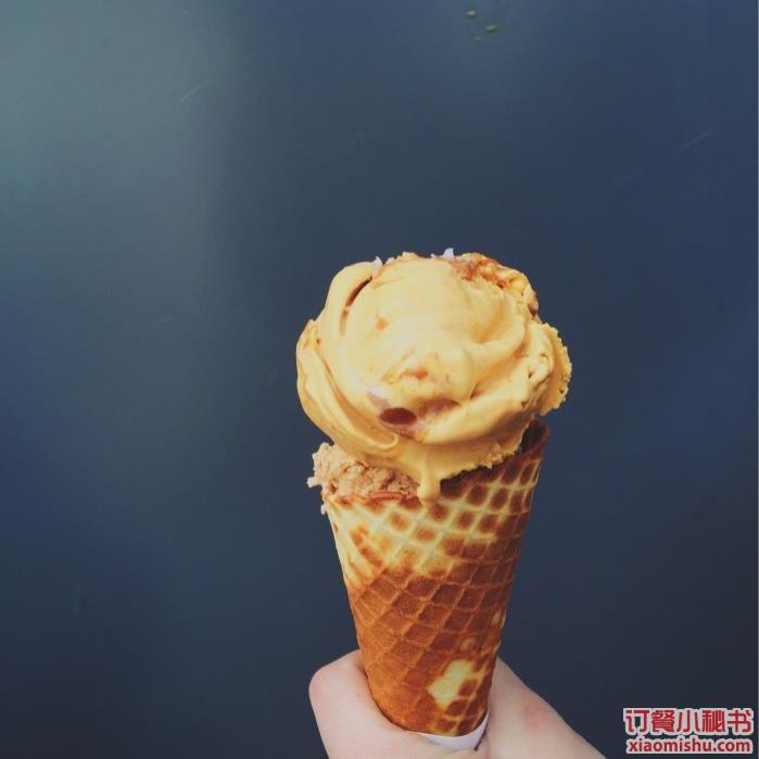 海盐焦糖冰淇淋