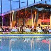 隐秀山居酒店 Poolside House 酒吧餐厅