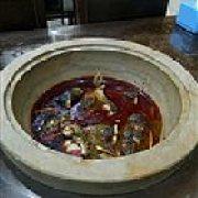 水荷塘.蒸汽石锅鱼