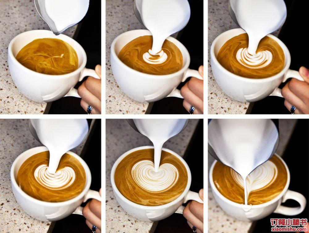咖啡泡沫动物造型